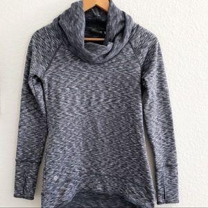 Athleta Tops - Athleta Tranquility Gray Cowl Neck Sweatshirt-am